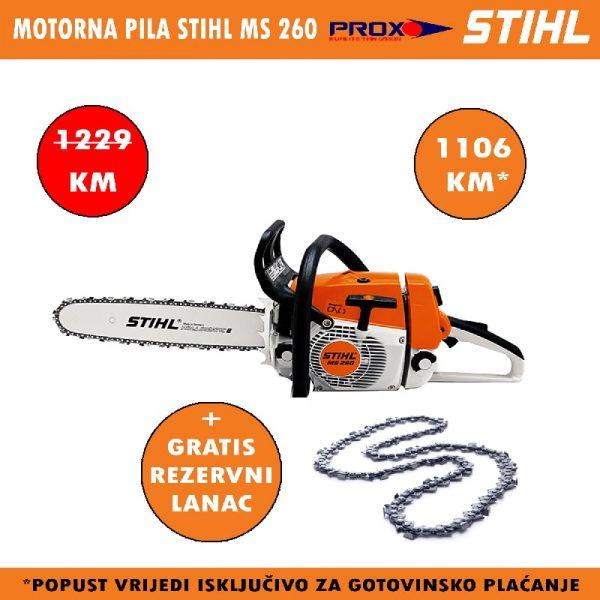 Motorna pila / motorka STIHL MS 260