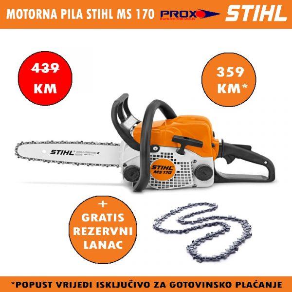 Motorna pila / motorka STIHL MS 170