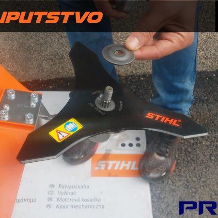 Montiranje noza i kruzne pile na STIHL FS 120 FS 250