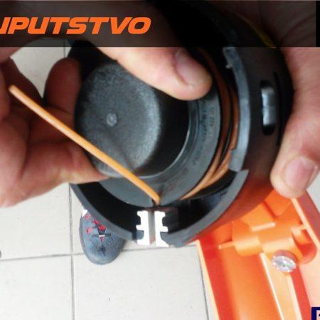 Montiranje silka na trimer STIHL FS 55 AutoCut 25-2 glava