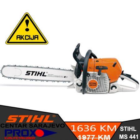Veliko sniženje profesionalne motorne pile STIHL MS 441