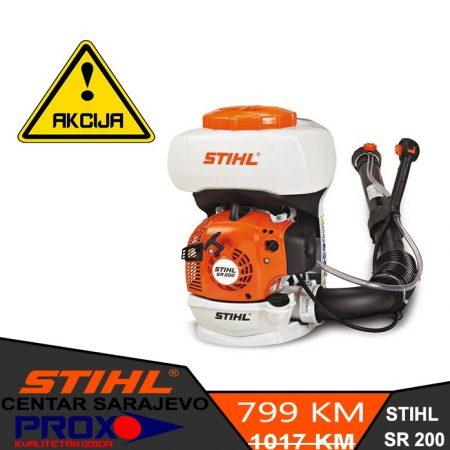 Veliko sniženje motorne prskalice / atomizera STIHL SR 200 - D