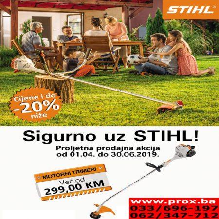 Nastavak proljetne akcije STIHL uređaja