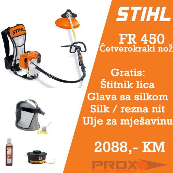 Leđni trimer motorni čistač STIHL FR 450